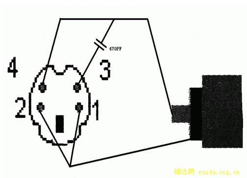 s端子转av端子接线图