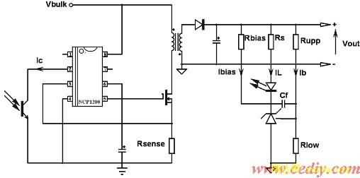 tl431的简化电路图如图1所示