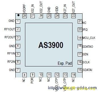 as3900引引脚排列图