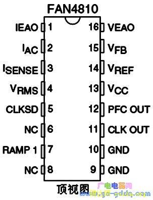 fan4810功率因数校正电路 -pdf,fan4810中文资料,fan4810参数 数据